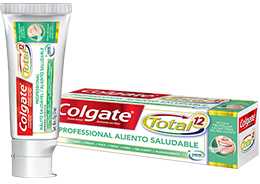 Colgate<sup>®</sup> Total 12 Professional Aliento Saludable